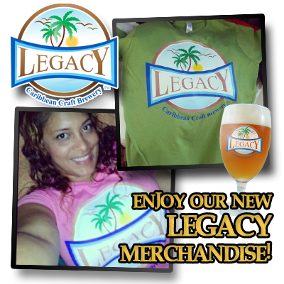 Legacy Caribbean Craft Brewery Merchanside Available