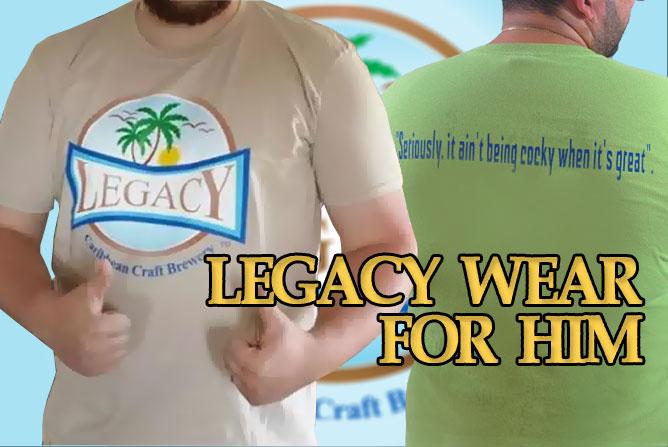 Legacy Merchandise for Men