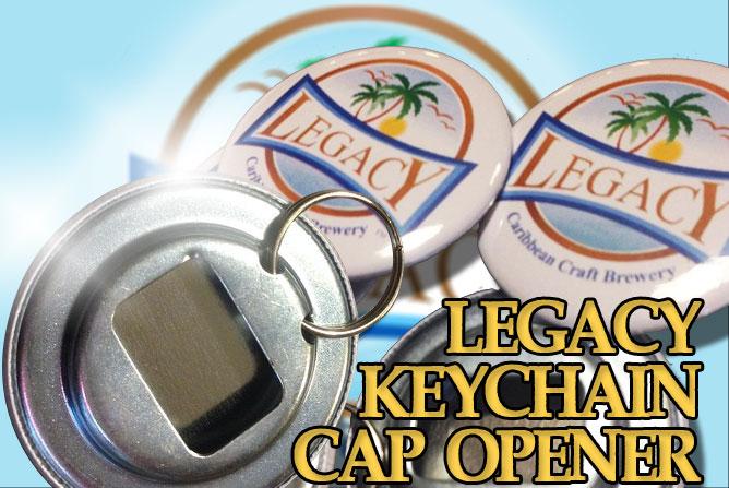 Legacy Key Chain Cap Opener