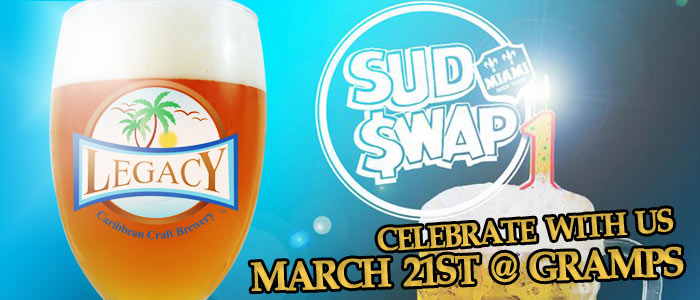 Legacy Brewery Sud Swap Wynwood craft beer festival