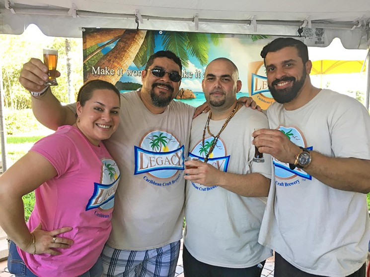 Legacy Caribbean Craft Brewery at FIU South Florida Brewfest