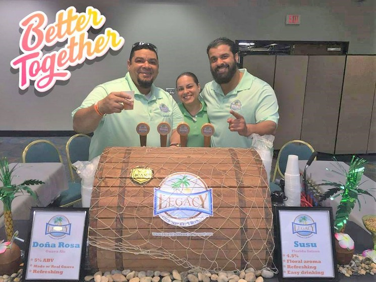 Legacy Caribbean Craft Brewery - Miami New Times