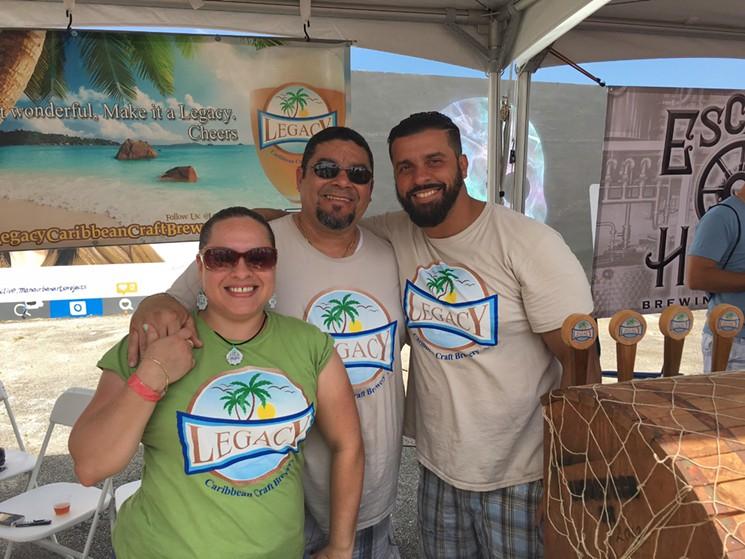 Sprung 2016 - Wynwood Beer Festival - Legacy Caribbean Craft Brewery