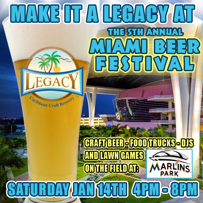 Miami Beer Fest 2017 at Marlins Park