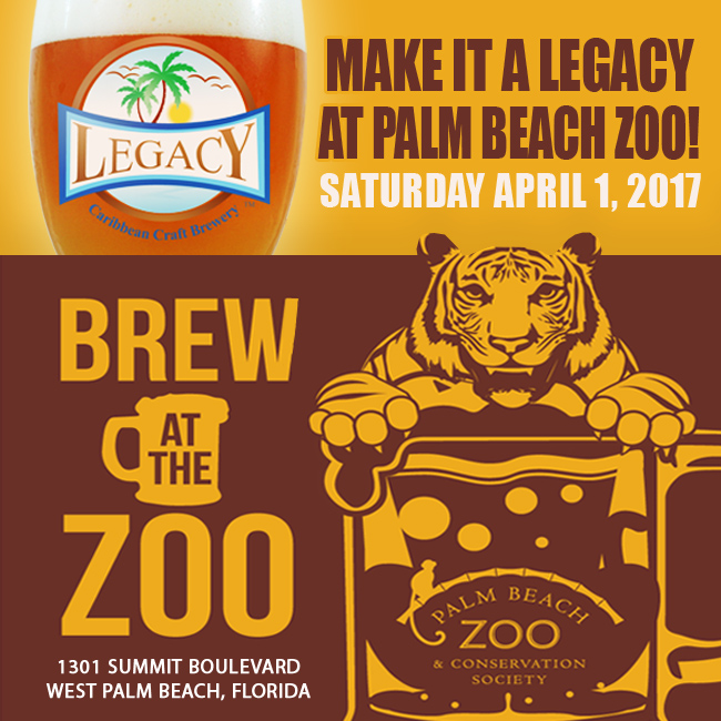 Legacy Brewery at the Zoo  -Palm Beach Zoo Craft Beer Festival