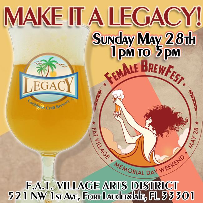 Legacy Brewery at FemALE Brewfest