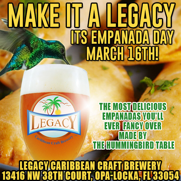 Empanada Day March 16th