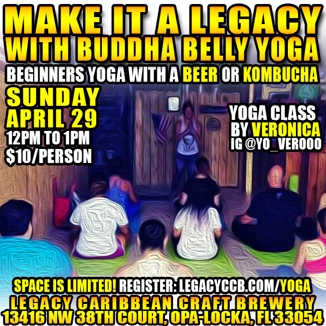 Yoga And A Beer at Legacy