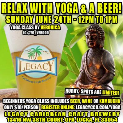 Legacy Brewery Yoga Class