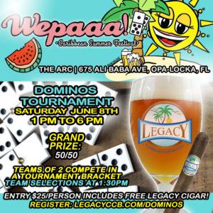 Wepaaa! Caribbean Summer Festival Dominos Tournament