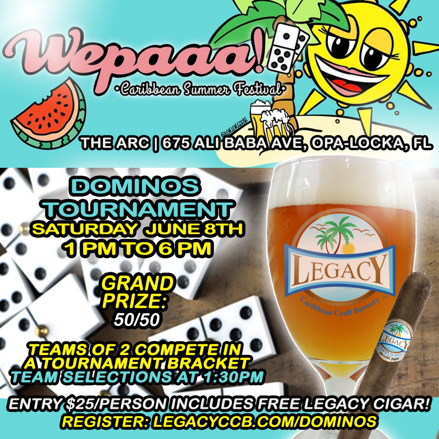 Wepaaa Dominos Tournament by Legacy Brewery