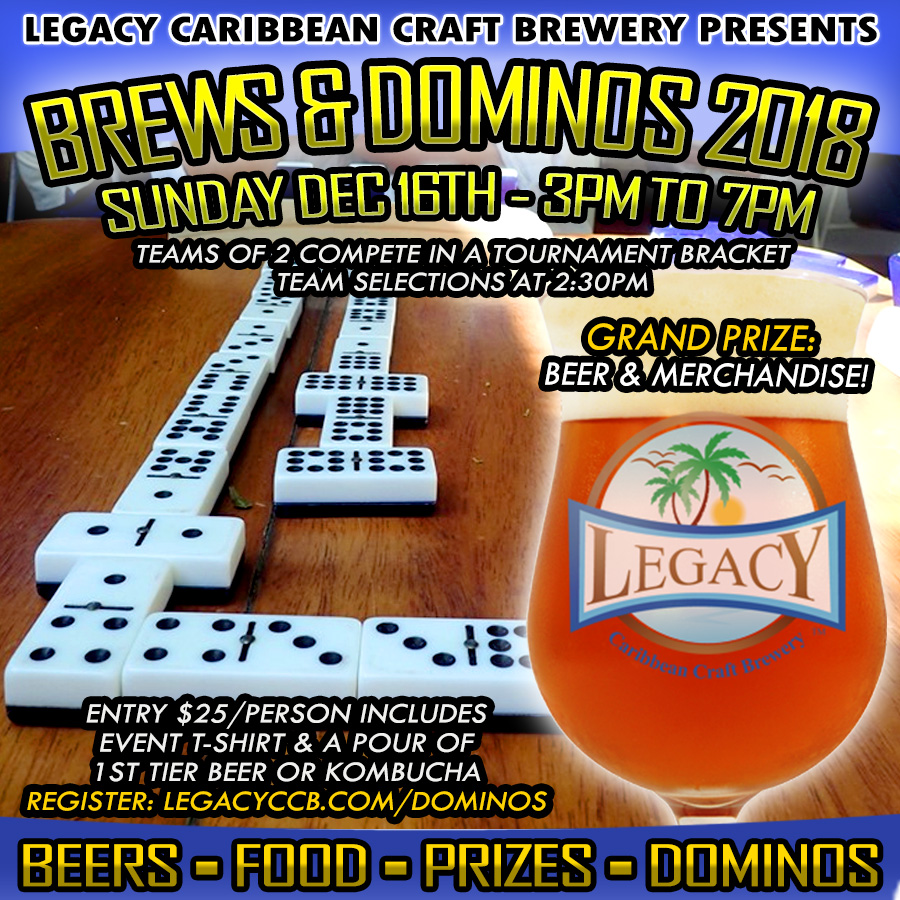 Brews And Dominos Tournament at Legacy Brewery