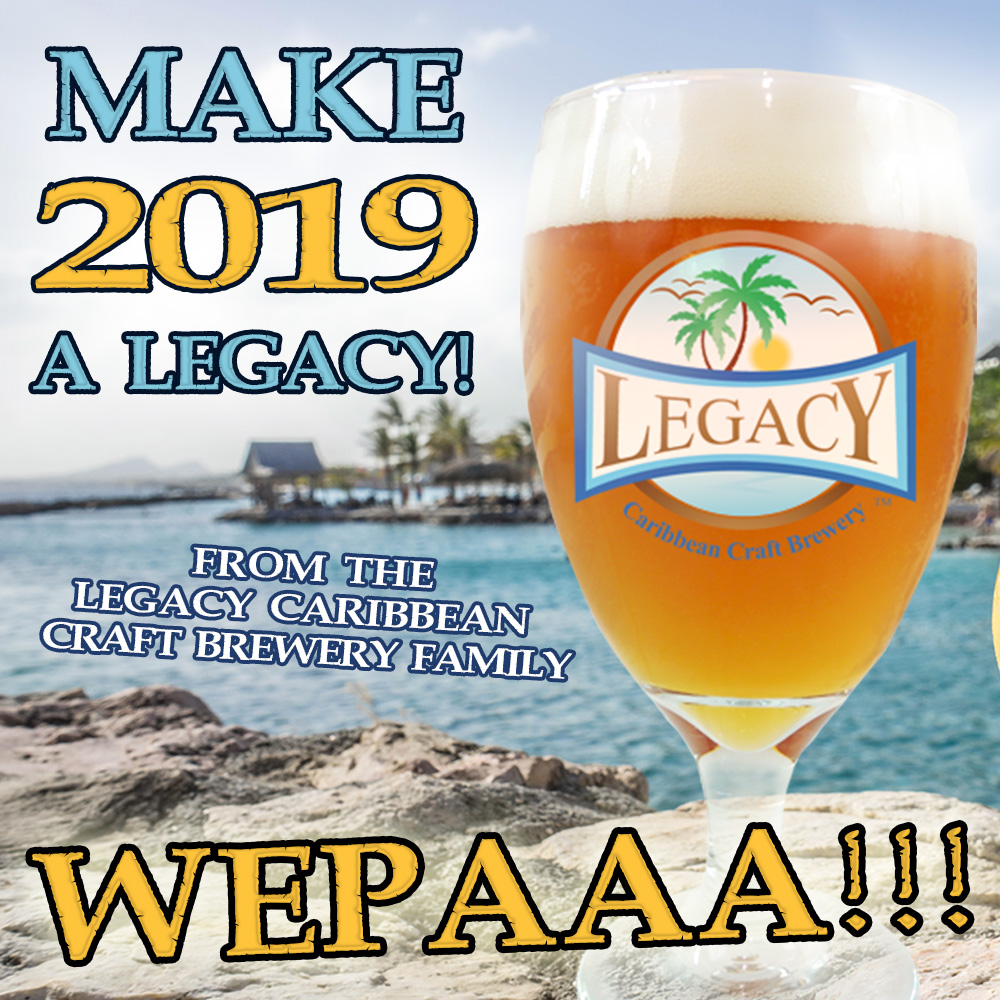 Happy New Years from Legacy Caribbean Craft Brewery