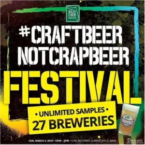 Craft Beer Not Crap Beer Festival