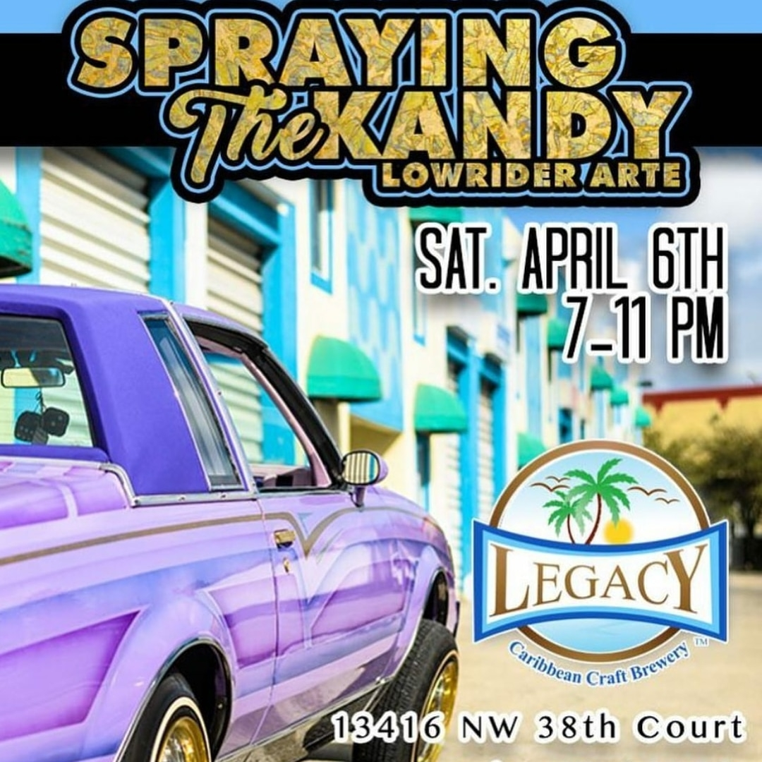 Spraying the Kandy - Lowrider Arte at Legacy Brewery