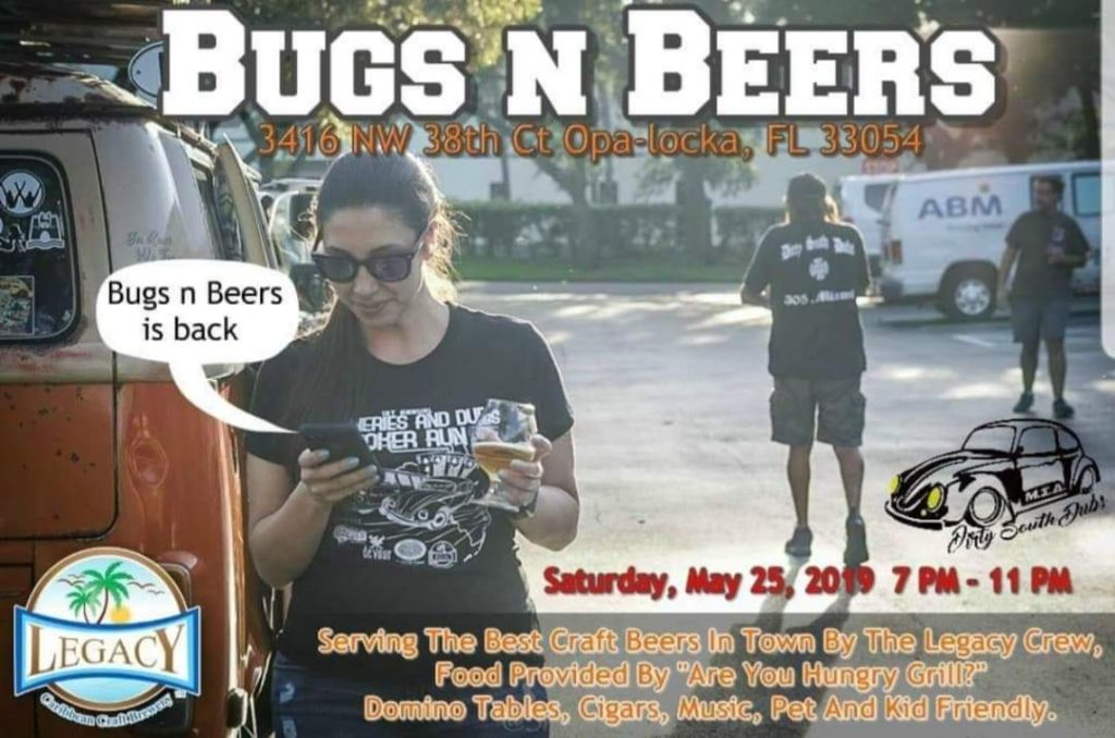 Bugs And Beers at Legacy Brewery
