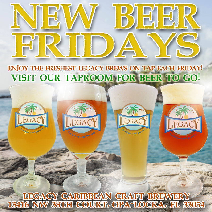 New Beer Fridays at Legacy Brewery