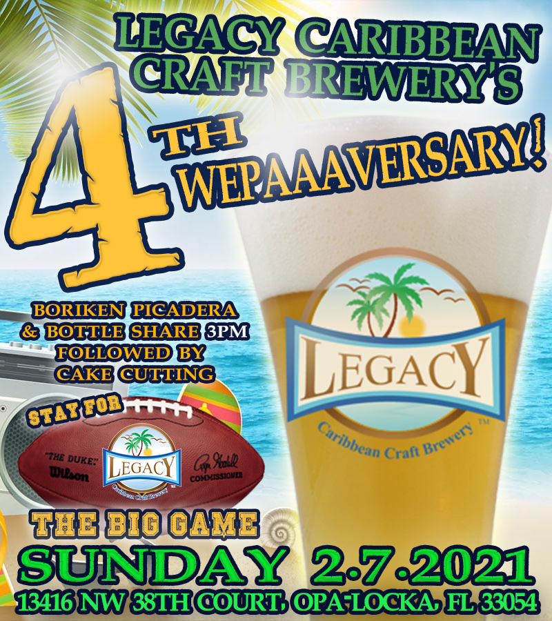 Legacy Brewery 4th Anniversary